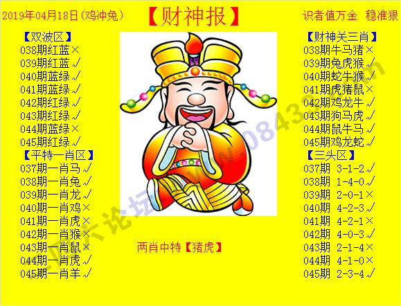 045期:黄色财神报