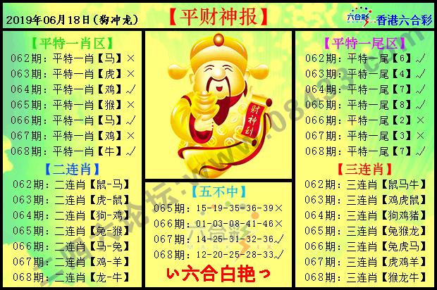 068期:平财神报