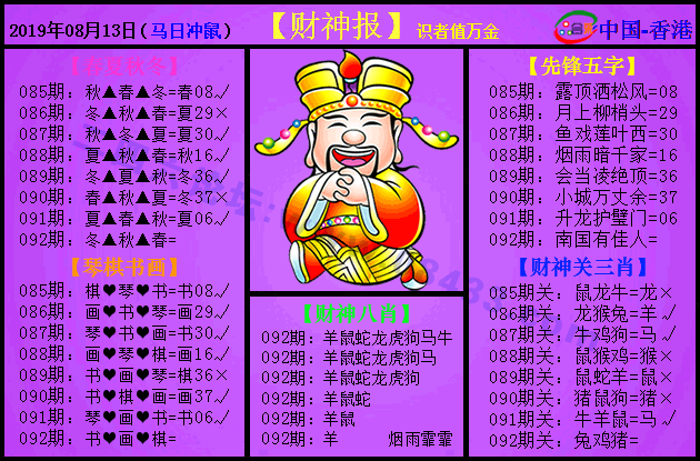 092期:紫财神