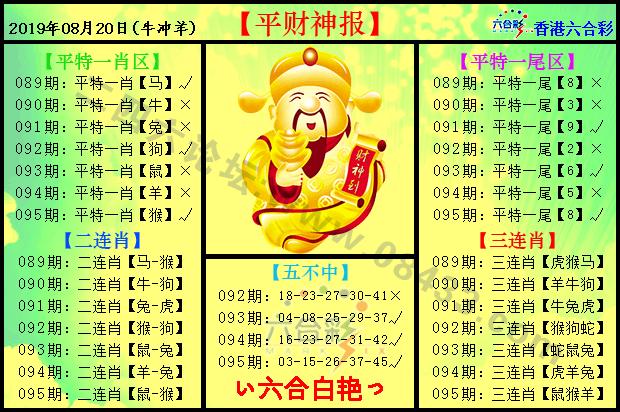 095期:平财神报