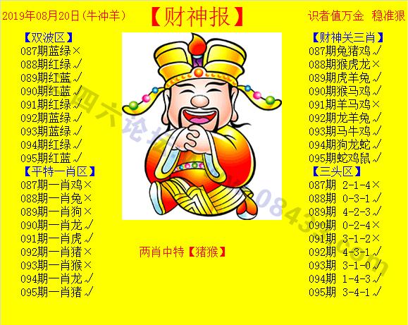 095期:黄色财神报