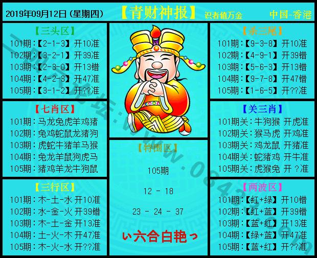 105期:青财神报