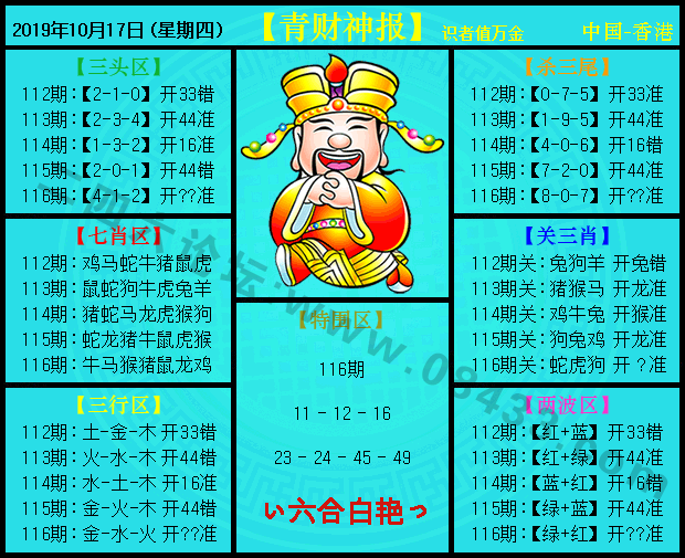 116期:青财神报