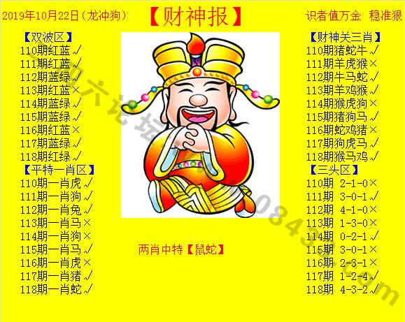 118期:黄色财神报