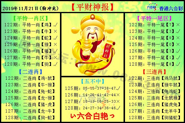 128期:平财神报