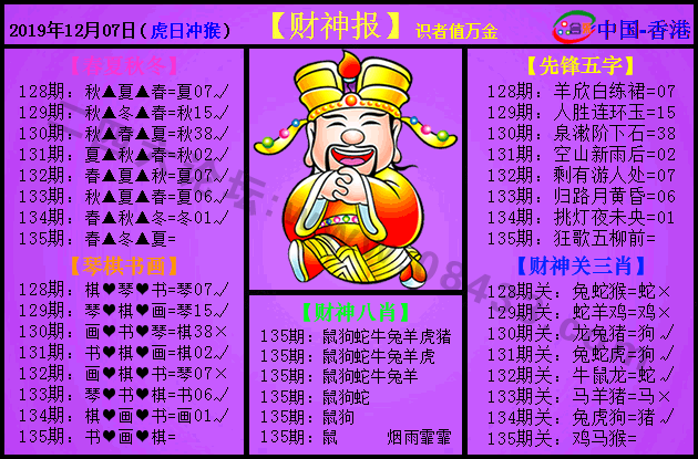135期:紫财神