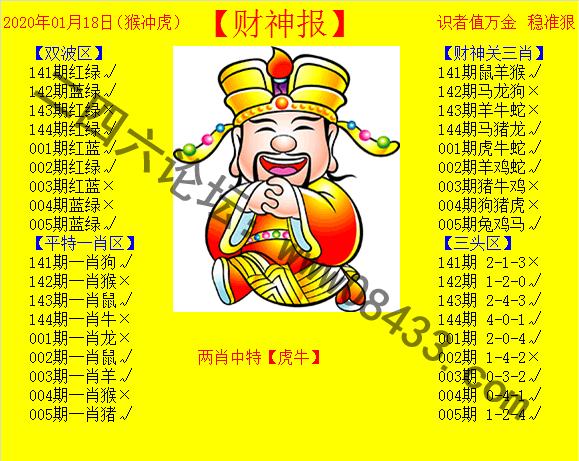005期:黄色财神报
