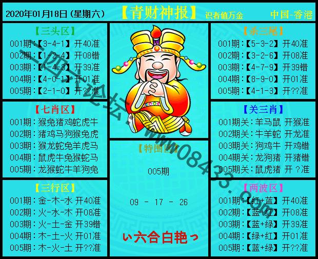 005期:青财神报