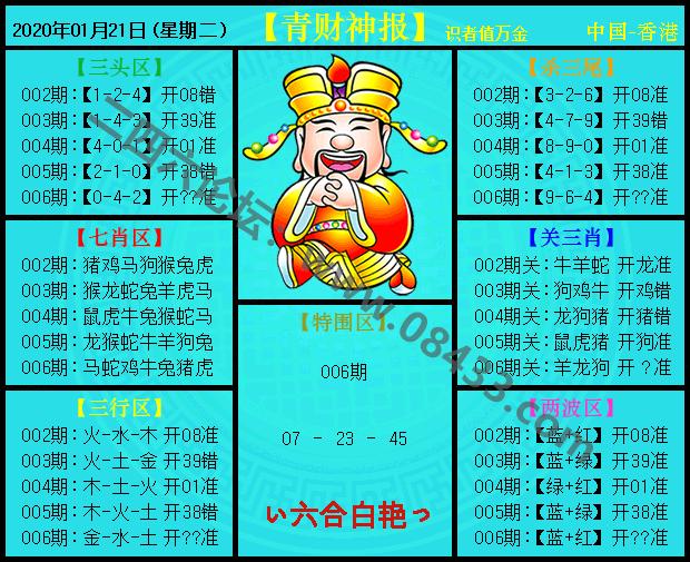 006期:青财神报