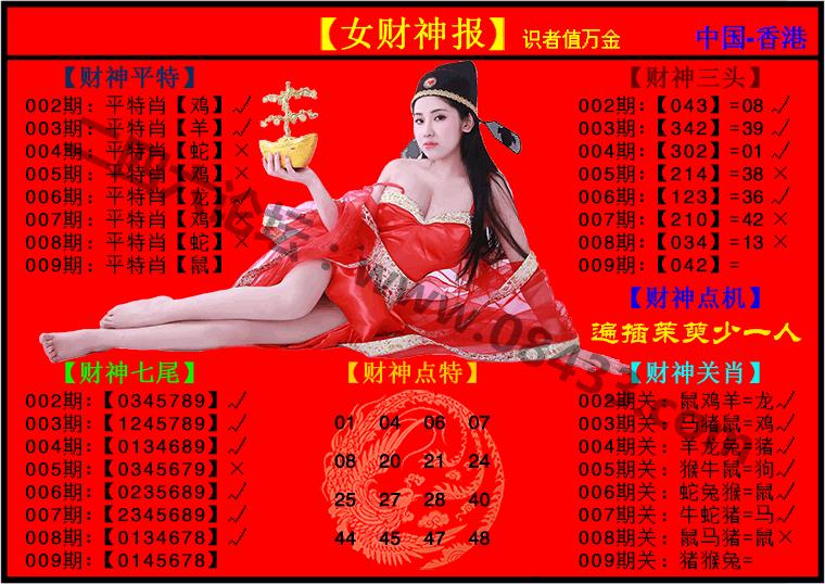009期:女财神报