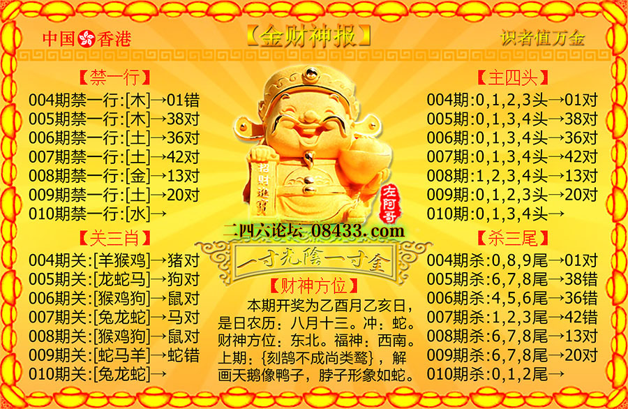 010期:金财神报