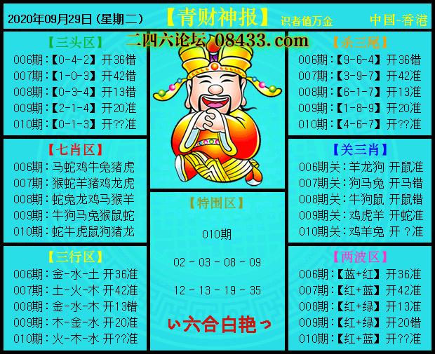 010期:青财神报