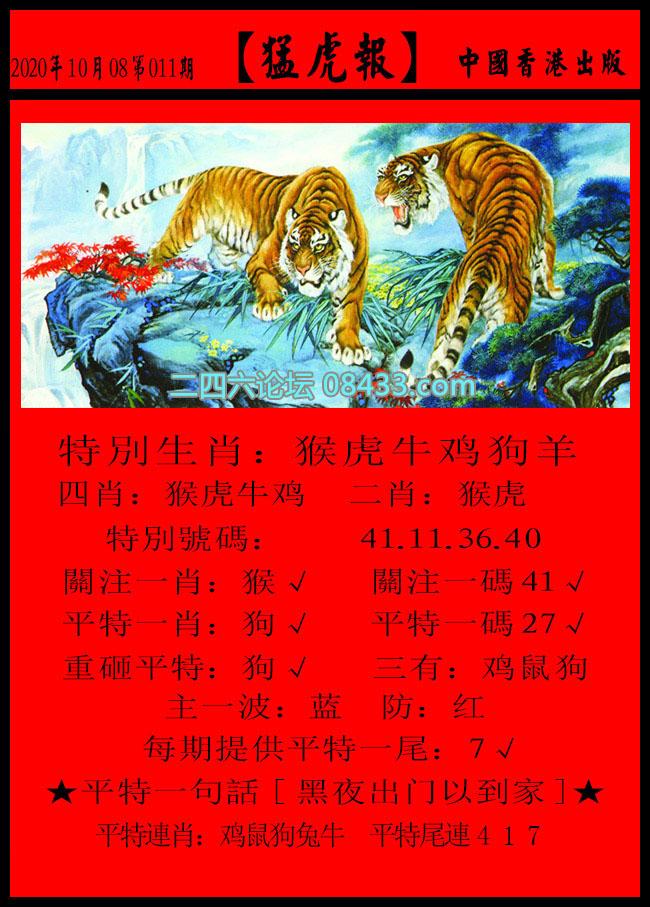 011期:猛虎报 + 发财报