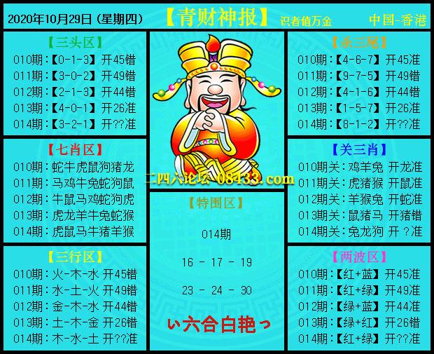 014期:青财神报