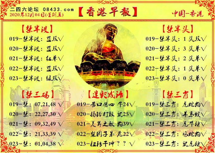 023期:香港早报