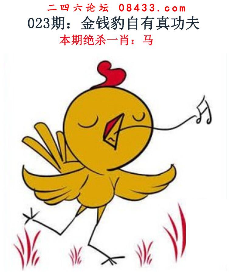 023期:金钱豹自有真功夫