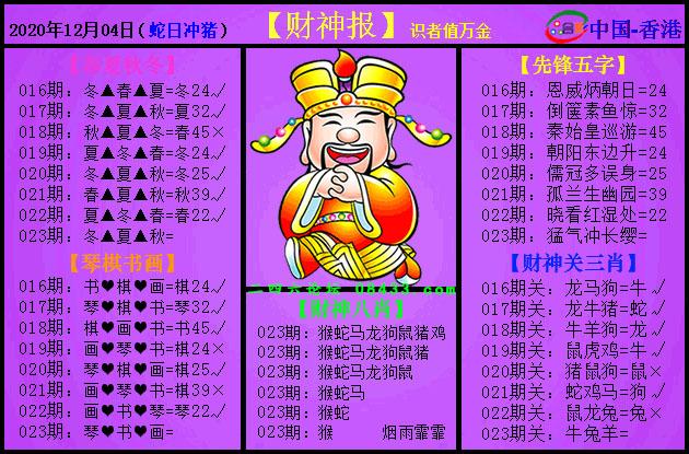 023期:紫财神