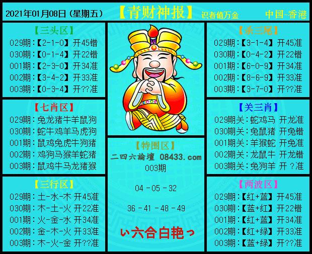 003期:青财神报