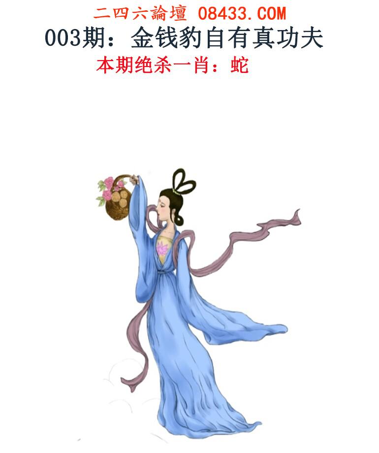003期:金钱豹自有真功夫