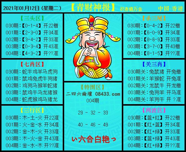 004期:青财神报