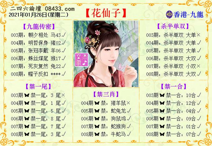 008期:花仙子