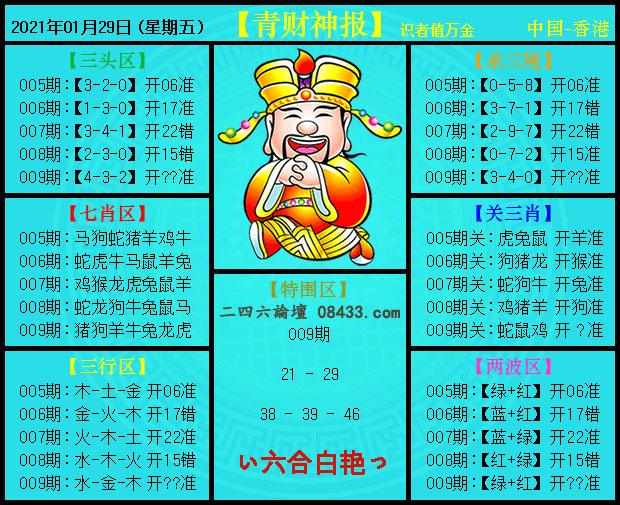 009期:青财神报