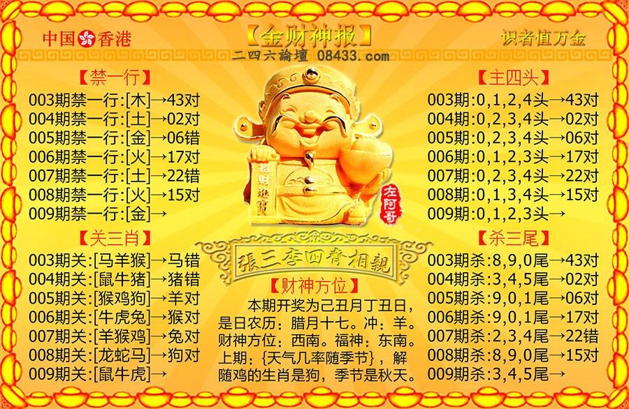 009期:金财神报