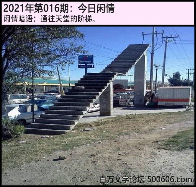 016期今日闲情:通往天堂的阶梯。