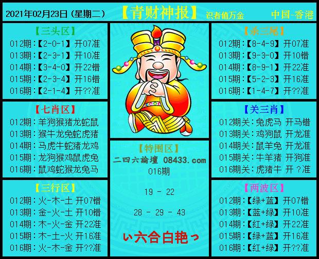 016期:青财神报