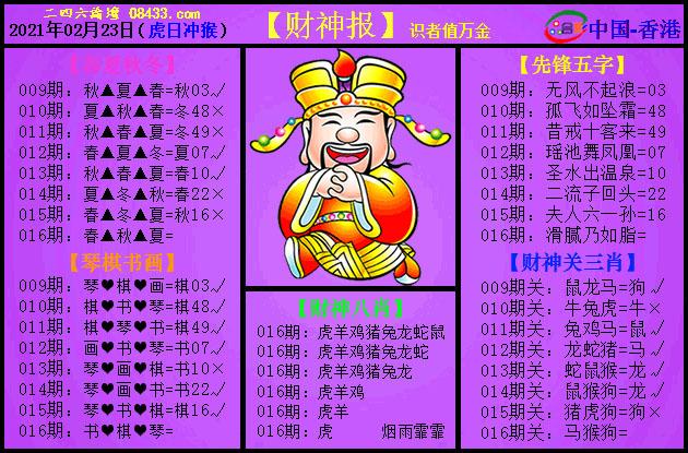 016期:紫财神报