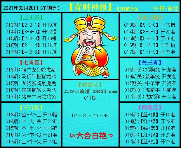017期:青财神报