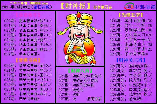 027期:紫财神报