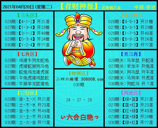 030期:青财神报