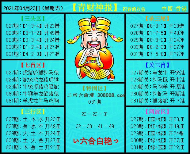 031期:青财神报