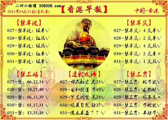 031期:香港早报