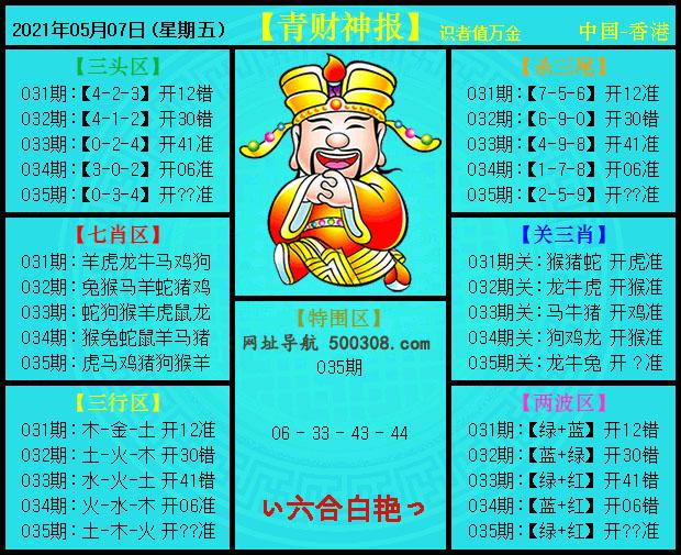 035期:平财神报