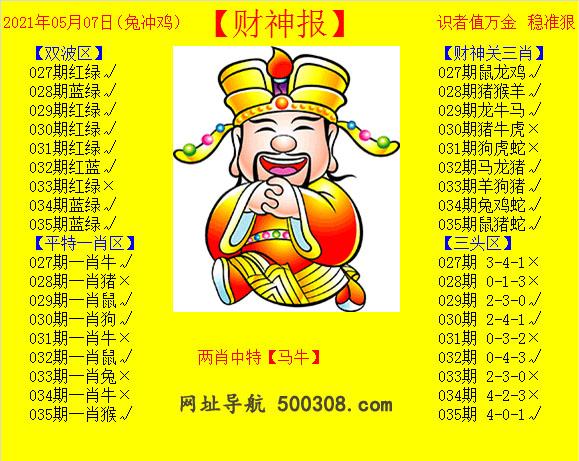 035期:黄财神报