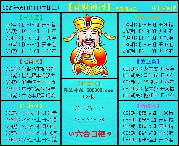 036期:青财神报