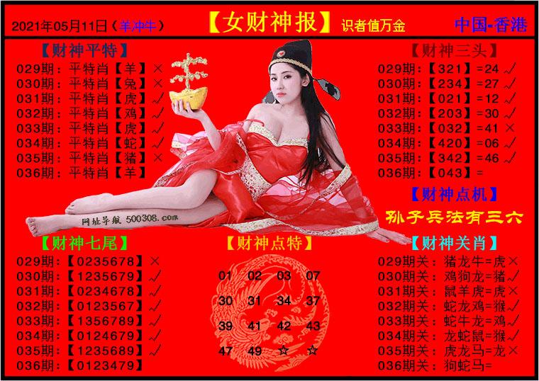 036期:女财神报