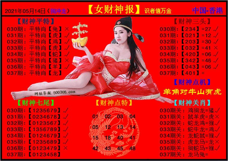 037期:女财神报