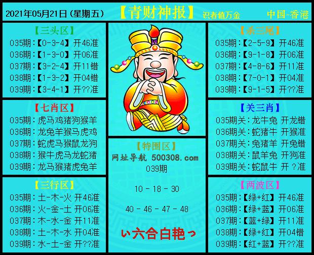 039期:青财神报