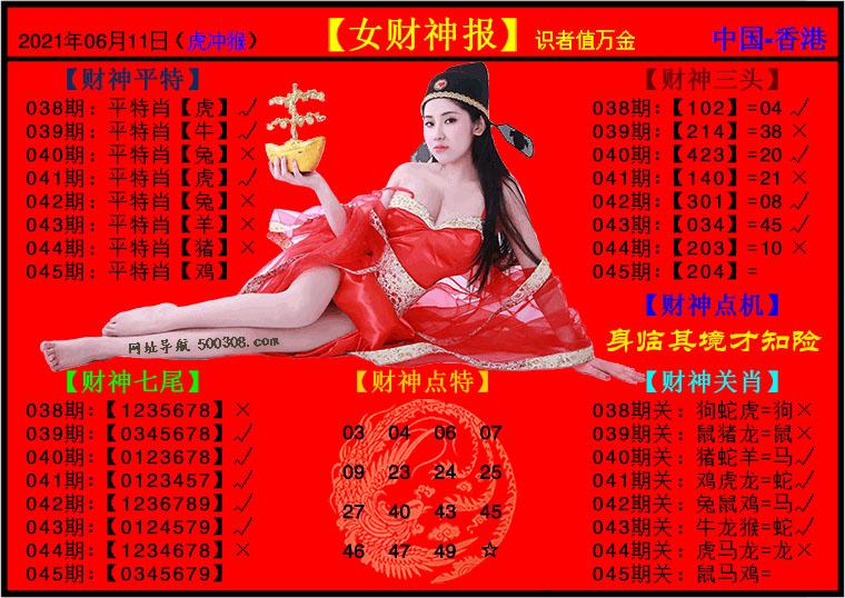 045期:女财神报
