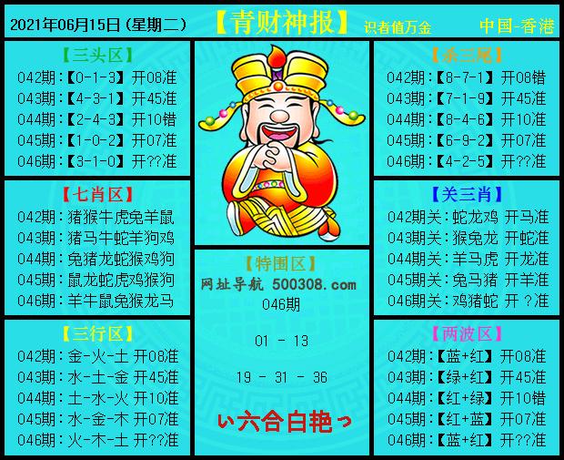 046期:青财神报