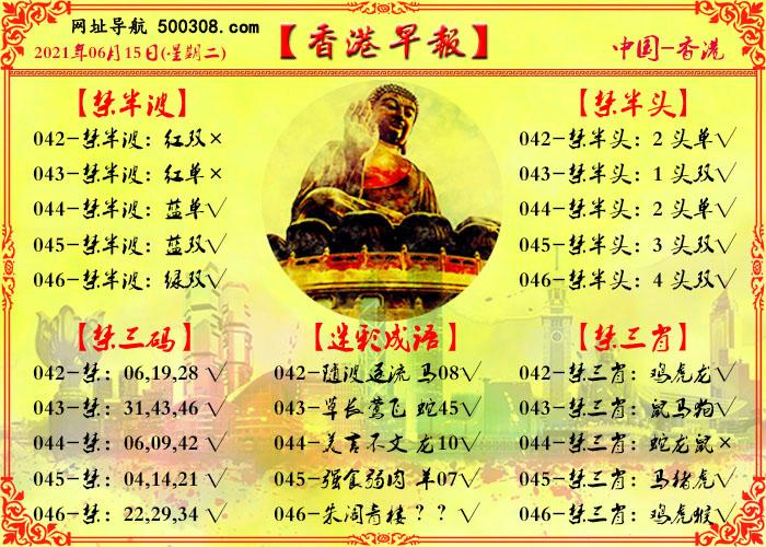 046期:香港早报
