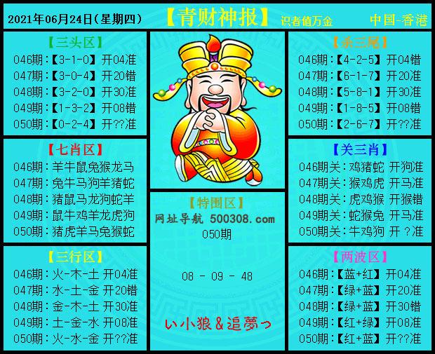050期:青财神报