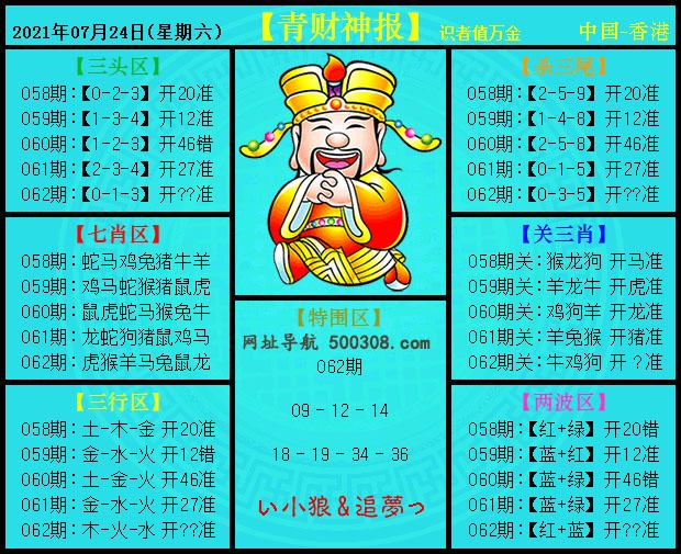 062期:青财神报