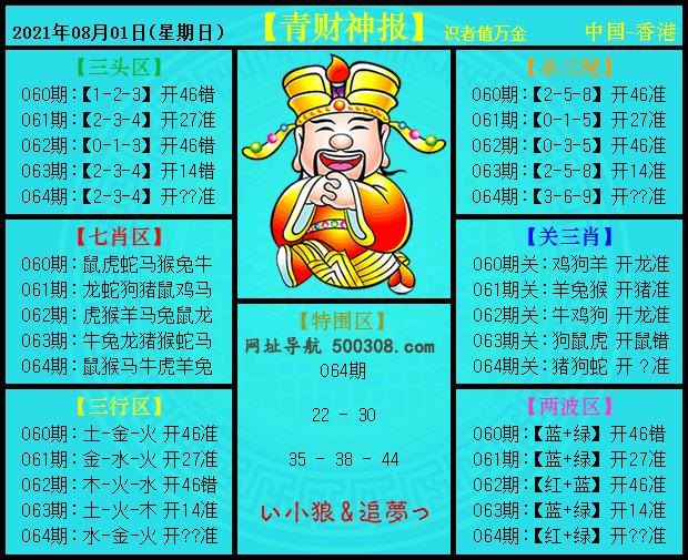 064期:青财神报