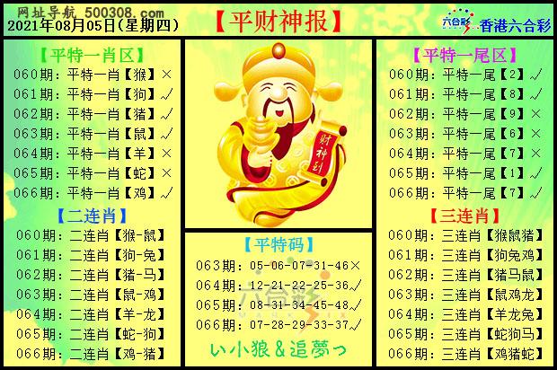 066期:平财神报