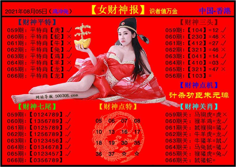 066期:女财神报
