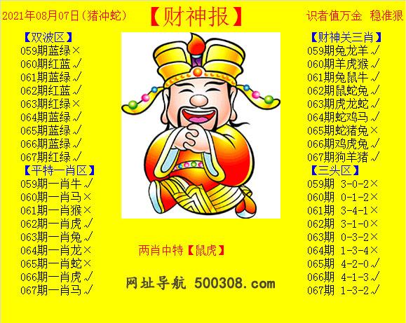 067期:黄财神报